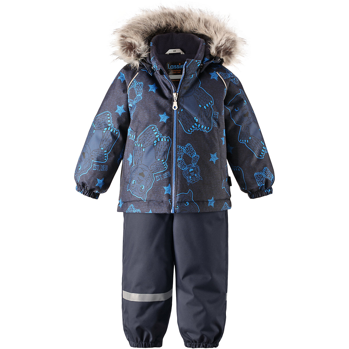 Children's Sets LASSIE for boys 8631662 Winter Track Suit Kids Children clothes Warm 2017 gsou snow women ski jacket pant outdoor sport wear skiing snowboard super warm suit cycling windproof waterproof suit set