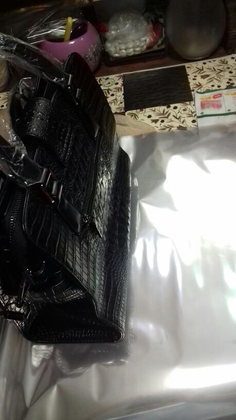 LY.SHARK Women Bag Female Shoulder Bag Handbag Women Famous brands Genuine Leather Bag Ladies Crossbody Messenger Bags Crocodile photo review