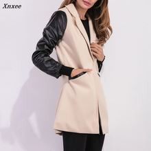 Xnxee Autumn Winter Womens Long Sleeve Jacket Cardigan Casual Tops Outwear long Style Female Coat