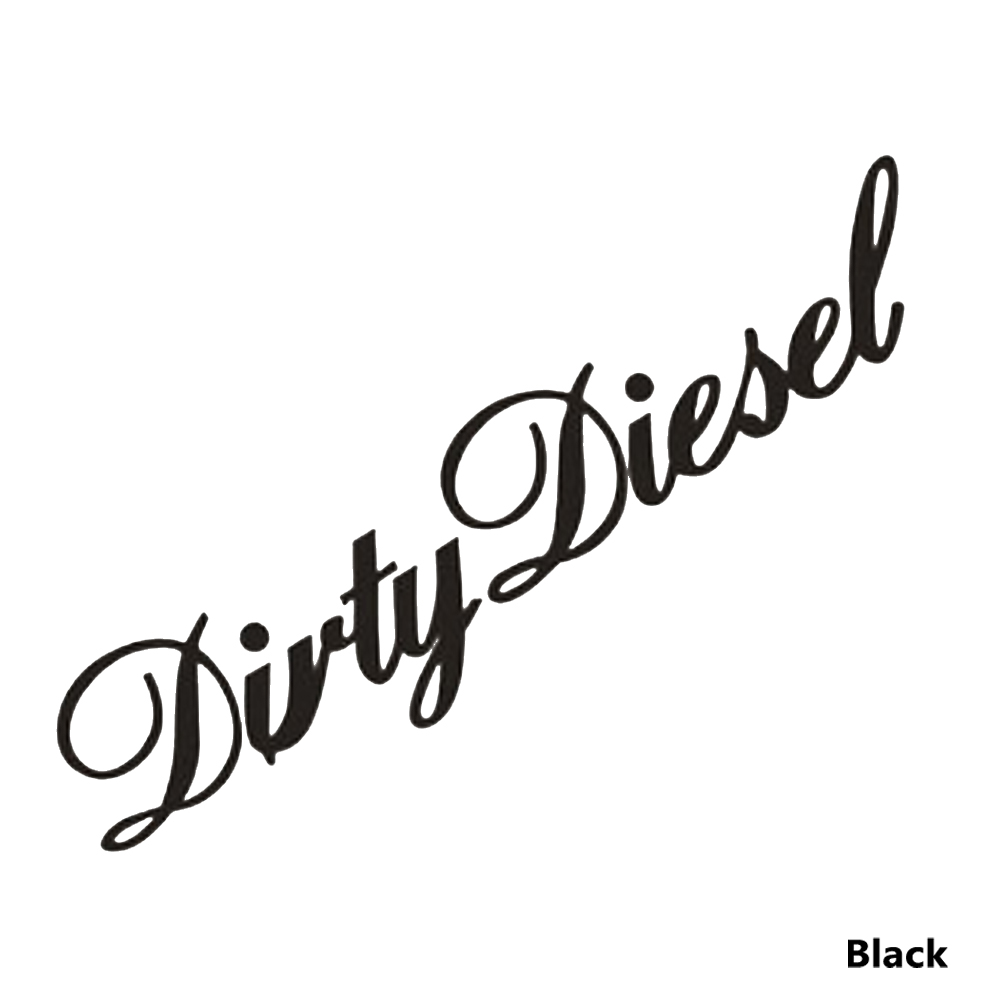 2018 Car Sticker For All Cars Dirty Diesel Funny Truck Car Window Sticker Vinyl Decal free shipping 1pc 580mm dirty tire 4wd off road graphic vinyl sticker for 4x4 truck pickup decals badges detailing sticker