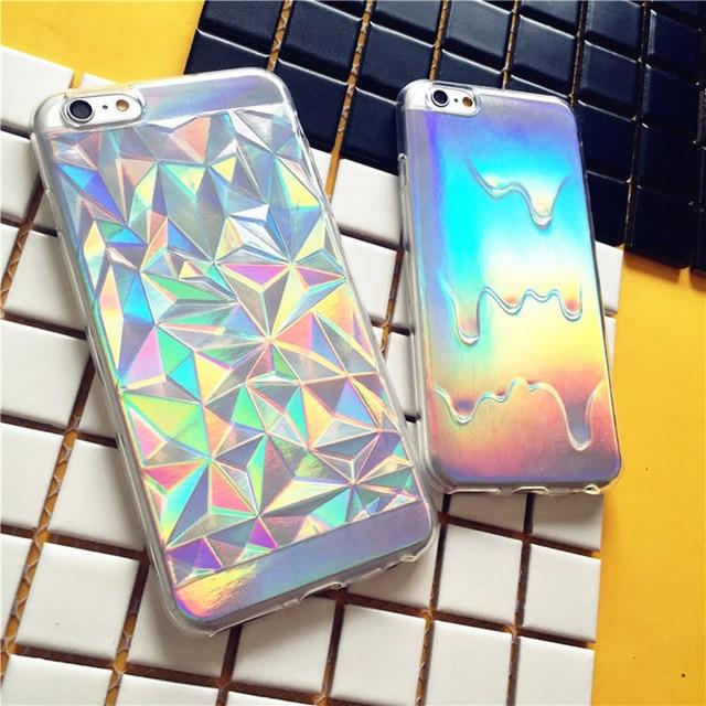 coque iphone 7 plus holographique