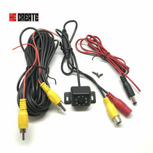 HE CREATE New Waterproof HD CCD 8 LED Night Vision Car Rear View Camera 170 Wide Angle Universal Backup Parking