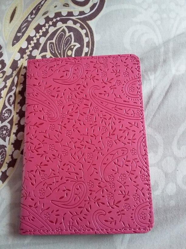 BOVIS hoge kwaliteit vrouwen paspoort Cover lavendel waterdichte kaarthouder PU lederen reizen paspoort houder - BIY001 PM30 photo review