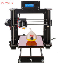 Latest A8 High Precision MK8 Prusa I3 3D Printer DIY Kit -Gift - PLA 3D Filament Resume Power Failure Printing 2018 newest sinis 3d printer upgraded i3 3d printer diy kit with smart leveling high precision cheap laser engraving 3d printers
