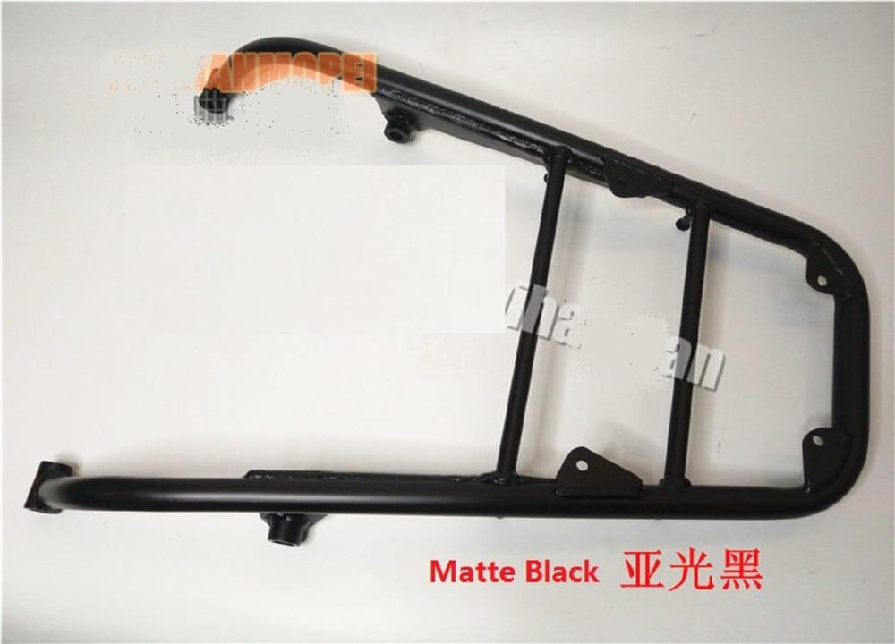 Luggage Rack Rear Tail Saddlebag Touring Carrier Cargo Holder Shelf Bracket For Honda CB1100 2010-2016 Matte Black