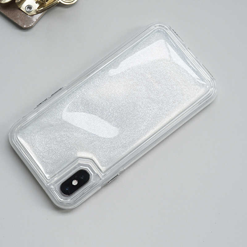 new product 65af5 90db0 GlamPhoneCase Fashion Decompression Glitter Quicksand Jelly Phone Cases for  iPhone X 7plus 7 8plus 8 6plus 6Splus 6/6S Soft Capa