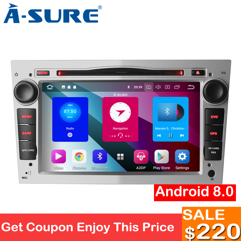a sure 7 inch 2 din android 8 0 car radio dvd player gps. Black Bedroom Furniture Sets. Home Design Ideas