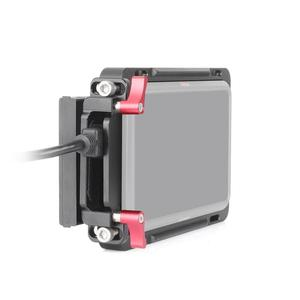 "Image 2 - EachRig צג כלוב עם מובנה נאט""ו רכבת נוסף HDMI כבל מהדק עבור Atomos צג Ninja V"
