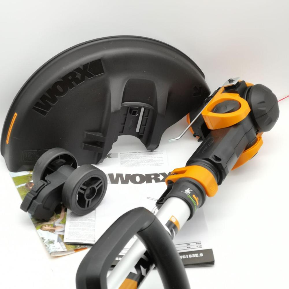 Grass Trimmer WORX WG163.2 trimmers cutting lawn mower Hedge Trimmer rechargeable Garden Power Tools