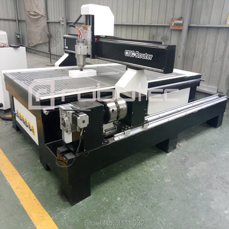 New 4 axis cnc milling machine 1325 CNC router with usb port cnc engraver for PCB wood plastic carving