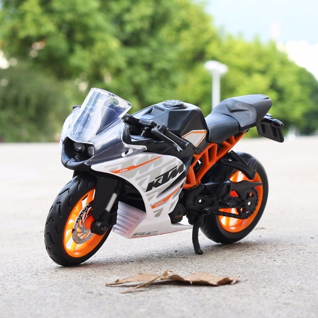 1 18 Scale Maisto Ktm Rc 390 Motorbike Race Cars Mini Motorcycle