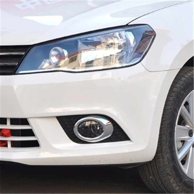 Fog Lamp exterior promote decorative modified parts accessories bright sequins car styling 13 14 15 16 FOR Volkswagen Jetta