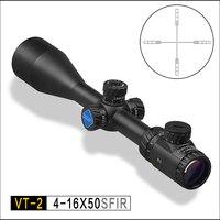 DISCOVERY VT 2 4 16x50 SFIR подсветка сетка сторона foucs riflescopes Охота