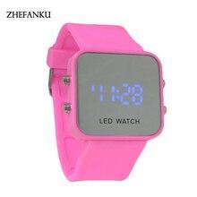 12 Colors Brand LED Electronic Intelligent Wristwatch Waterproof Sport Gold Smart Watch Pedometer Men Women Sports Wrist Watch