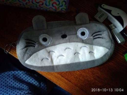Cute School Students Bag Kawaii Kids Plush Pen Bag Box Cartoon Hello Kitty Cat Animals Stationery Bag For Children Girls Boys photo review