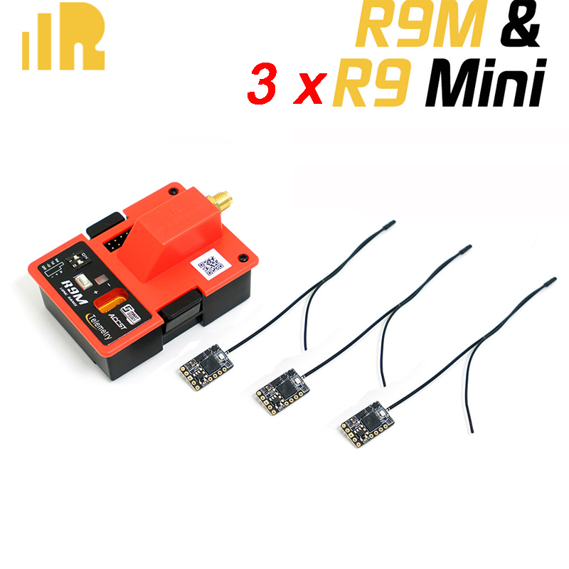 цена FrSky R9M and 3x R9 Mini Receiver Combo Special offer
