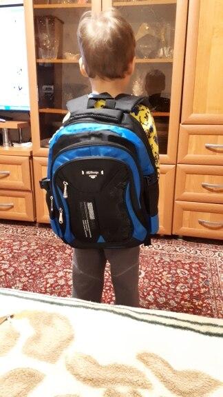 NEW Children School Bags For Girls Boys High Quality Children Backpack In Primary School Backpacks Mochila Infantil Zip photo review