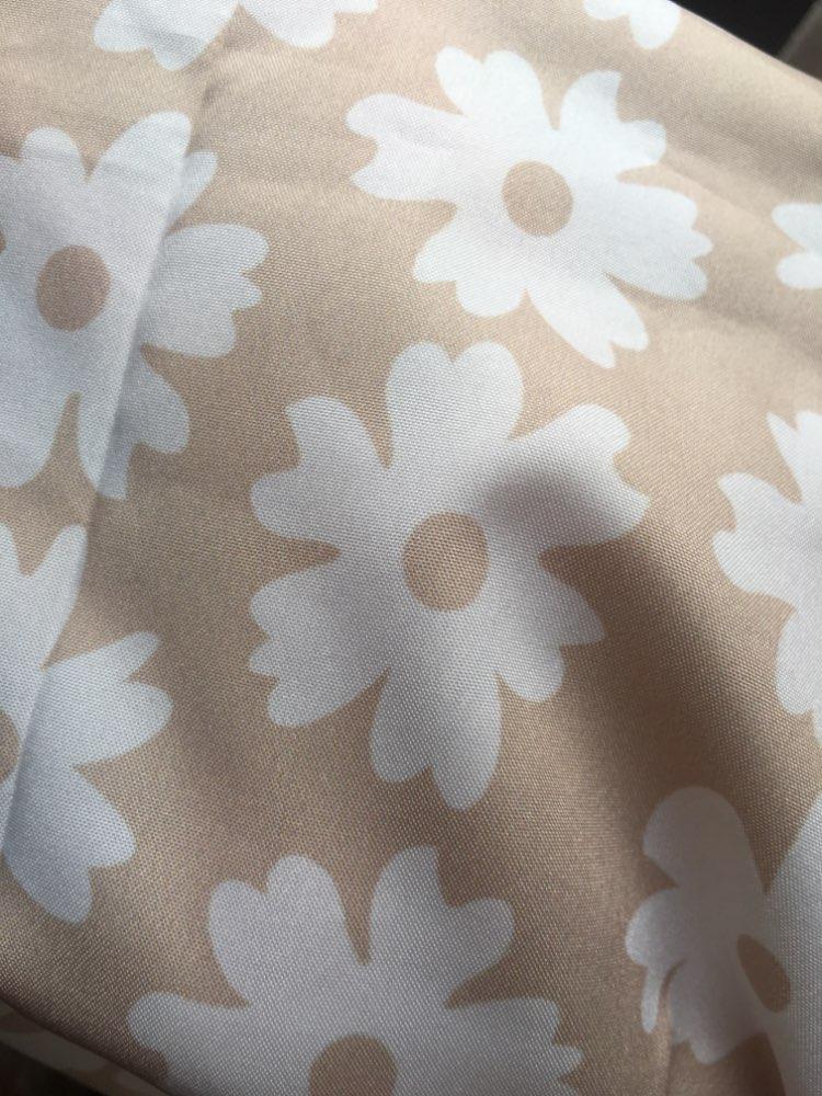 Twist Off Shoulder Casual Women Dress Ruffle Beach Summer Dresses Female Floral Print Dress Suit Vestidos photo review