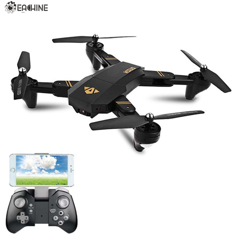 Eachine visuo xs809hw WiFi FPV con gran angular HD Cámara modo alto brazo plegable RC quadcopter RTF RC helicóptero juguetes
