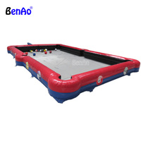 S395 BENAO Free shipping Inflatable snooker football, inflatable tennis court, inflatable table tennis for sale