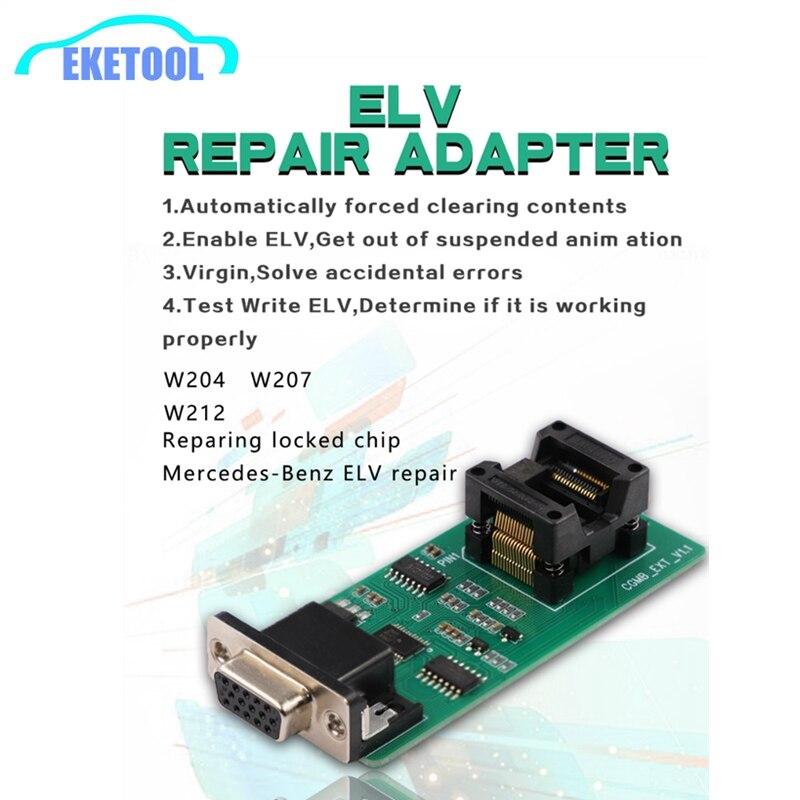 ELV Repair Adapter Works For CGDI MB Repairing Lock Chip For Benz Key Programmer Tool ELV Repair W204 W207 W212