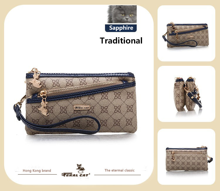 cf13f2feaa2 FERAL CAT Luxury Women's Fashion Handbags Online Designer Elegant Leather  Shoulder Bags For Ladies