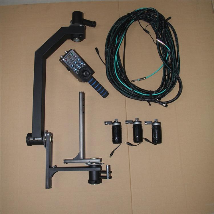 Schwenkkran 10m 3-Achs-Schwenk-Neigekopf Tragbarer Kamerakran DSLR - Kamera und Foto - Foto 6
