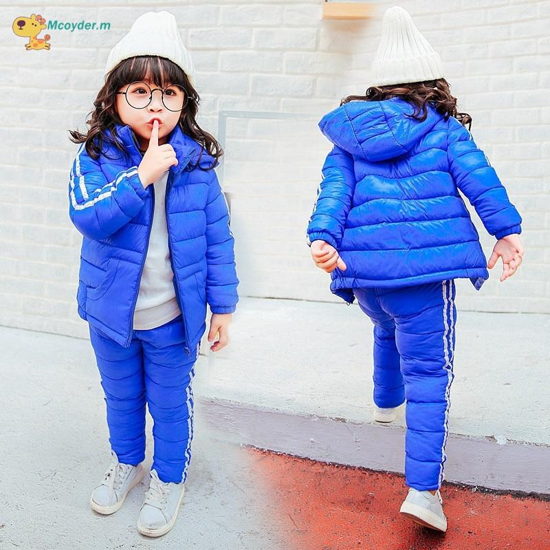 7c25e06d4 Skup Tanie Winter Baby Girls Boys Clothing Set Kids Ski Suit ...