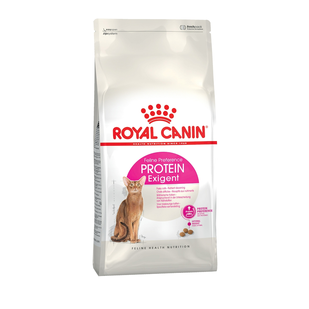 Cat food Royal Canin Exigent Protein Preference, 4 kg cat food royal canin exigent savour sensation 2 kg