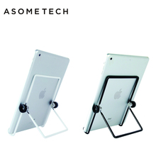 For apple iPad Stand Metallic Foldable Common 5 to 12 inch Tablets Stand Holder For ipad Huawei Samsung Mipad Tab Stand Bracket