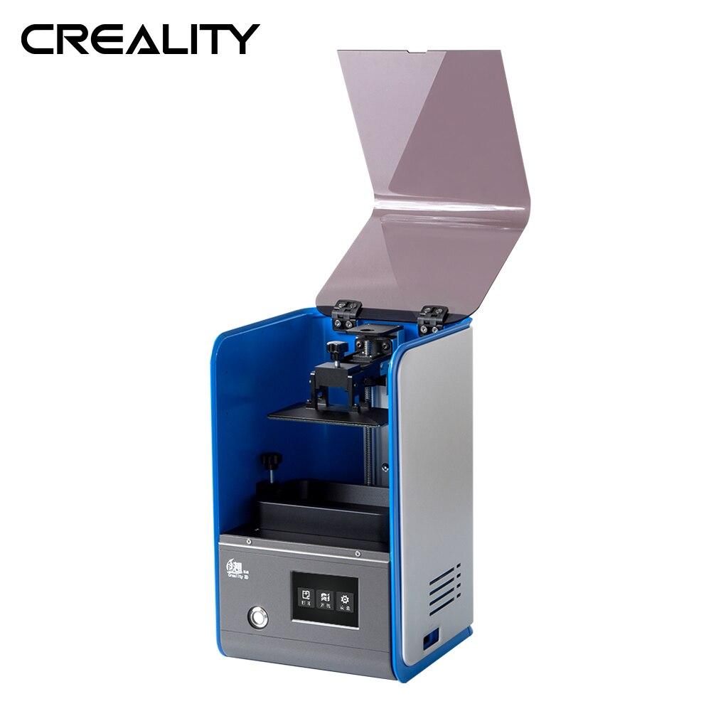 Creality 3D UV résine DLP LD-001 3D créateur trancheuse 3.5 pouces couleur tactile bureau Photon Prototype conception de bijoux dentaires - 4