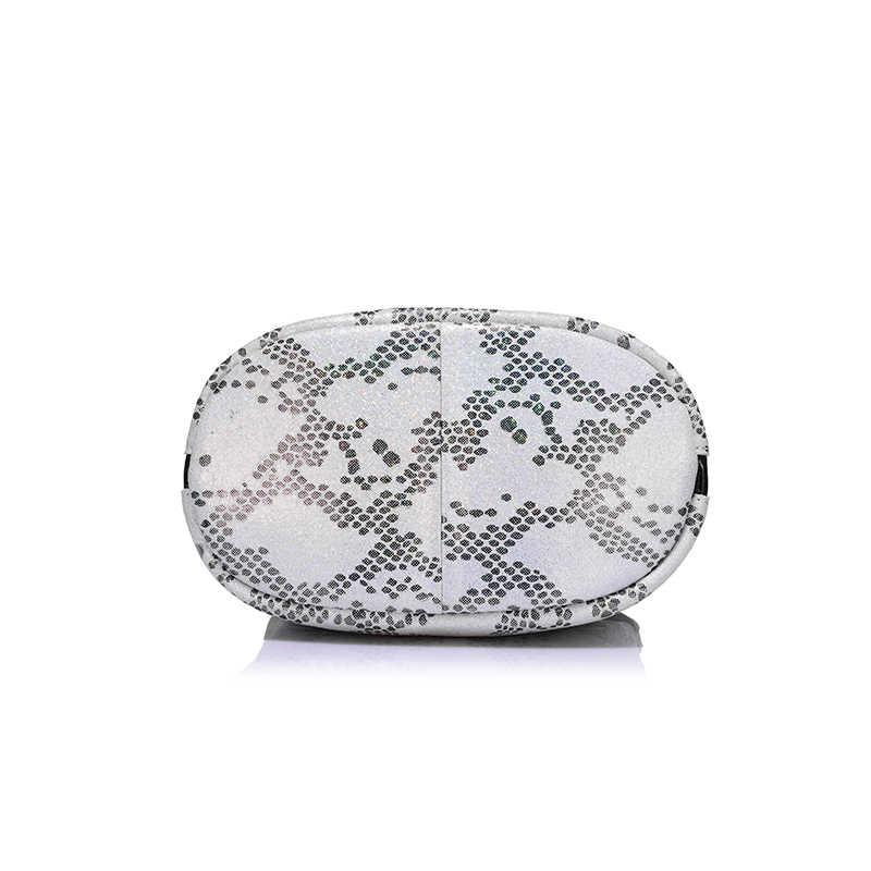 REALER бренд новый приход женщин серпантин сумки неподдельной кожи дамы сумка женская мода небольшие сумки небольшой hobos мешок