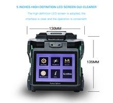 Komshine Nieuwste Model GX37 Optical Fiber Fusion Splicer lasser machine soudeuse de fiber optique met extra elektroden