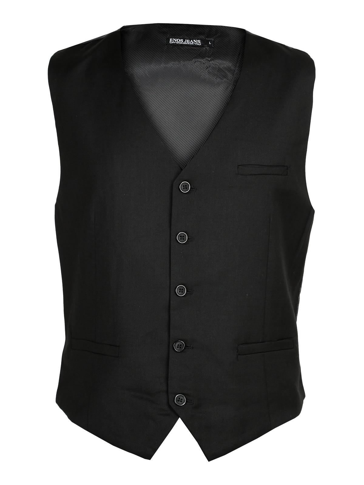 Waistcoat Elegant Black