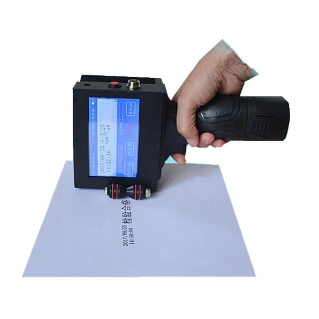 Di động cầm tay máy in đa ngôn ngữ hệ thống in ấn số lượng máy cầm tay máy in phun máy Dán Nhãn