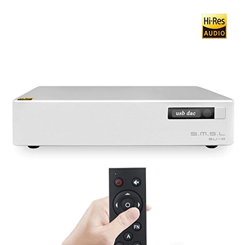 SMSL SU-8 ES9038Q2M * 2 32bit/768 kHz DSD512 DAC USB/Optische/Koaxial Decoder
