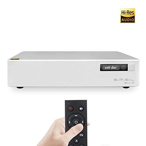 SMSL SU-8 ES9038Q2M * 2 32bit/768 khz DSD512 DAC USB/Optique/Coaxial Décodeur