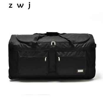 32 40 inch ultralight nylon super large capacity trolley luggage travel bag soft canvas male luggage checked bag - DISCOUNT ITEM  8 OFF Luggage & Bags