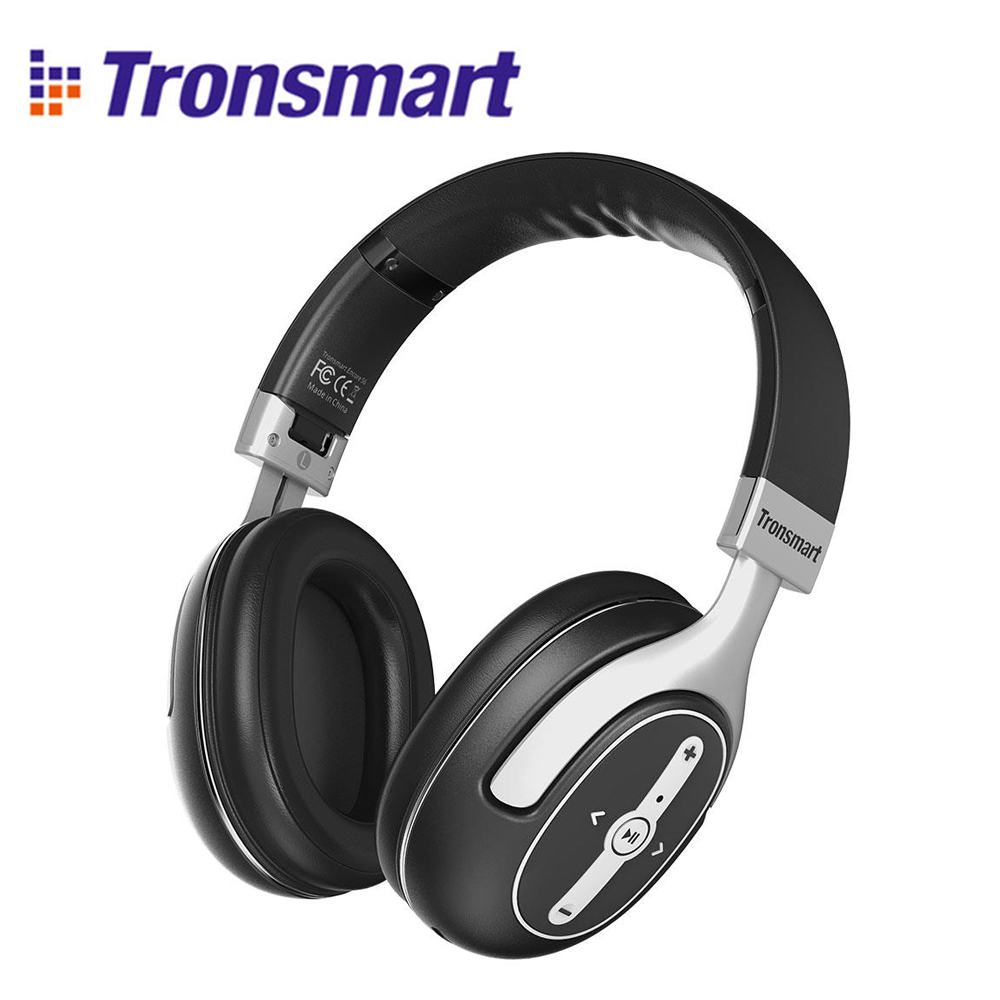 цена Tronsmart S6 Active Noise Cancelling Bluetooth Headphones with Microphone and 3.5mm Audio Jack for iPhone Android for Gaming онлайн в 2017 году