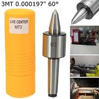 MT3 Precision Rotary Live Center 0 000197 Quot CNC Morse Taper Long Spindle Lathe 3MT Triple