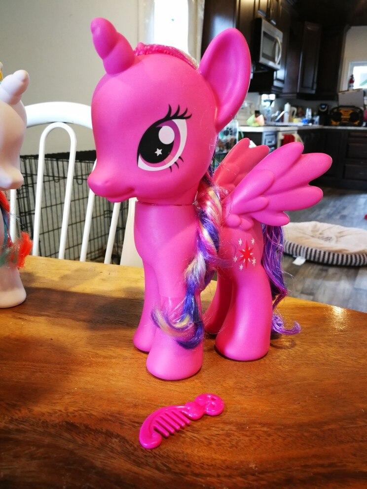 22cm Rarity Rainbow Unicorn Figure photo review
