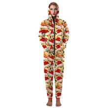 funny christmas onesies for adults with hood dog print matching xmas pajamas for couples best friends pjs plus size s xl