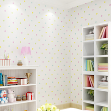 Милые мультфильмы детская комната красочные точка обои для маленьких мальчиков и девочек Настенные обои для спальни Papier Peint детская настенная бумага s QZ120