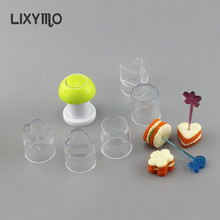 Sandwich Cutters Moulds Fruits Pop makers Dessert Snack Pastry Cookies Fruit Vegetables Molds Sushi cake decorating DIY tools