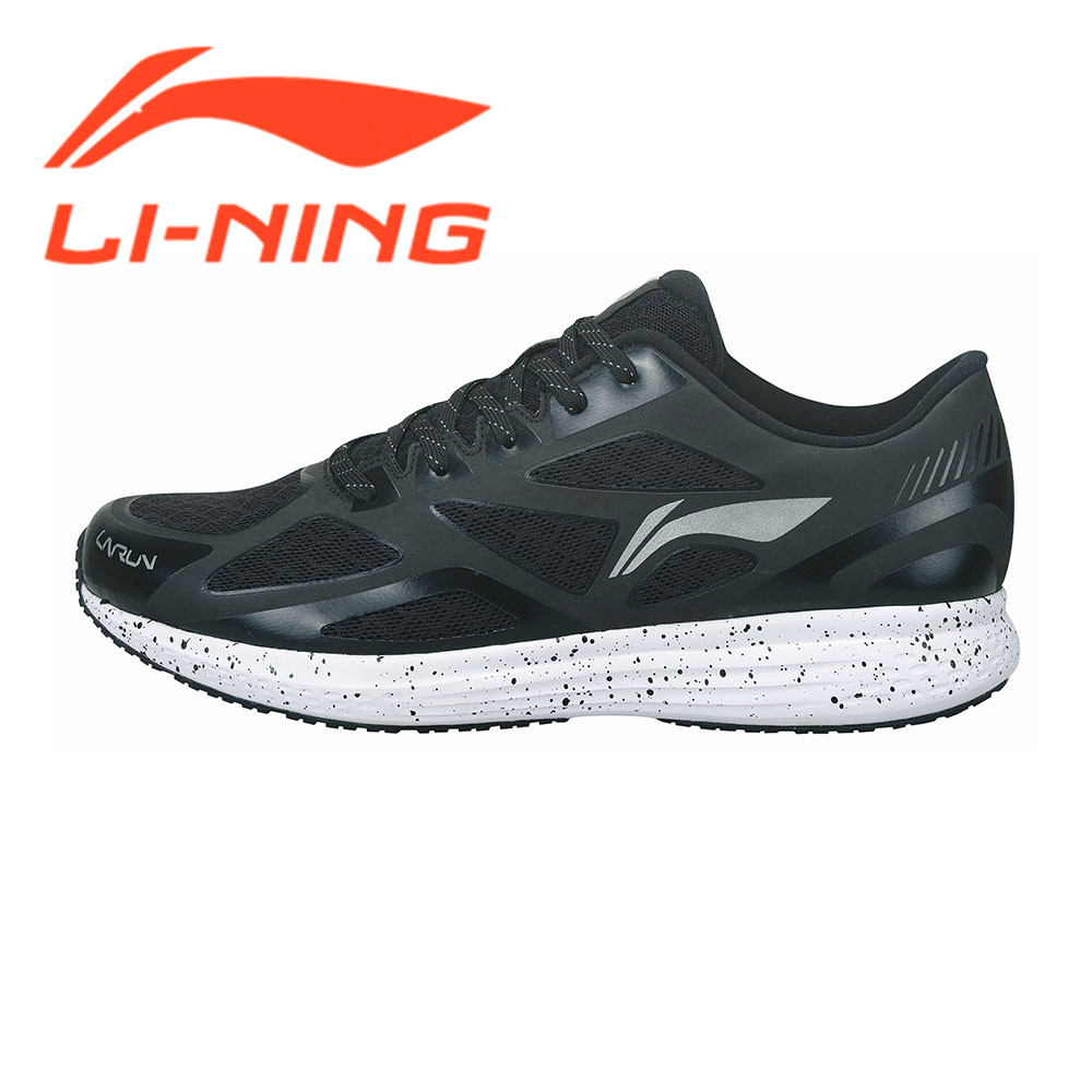 Li-Ning Original Running Shoes Men Sneakers  Rubber Lace-Up Speed Star Series Cushioning Breathable Sports Shoes ARHM001 original li ning men professional basketball shoes