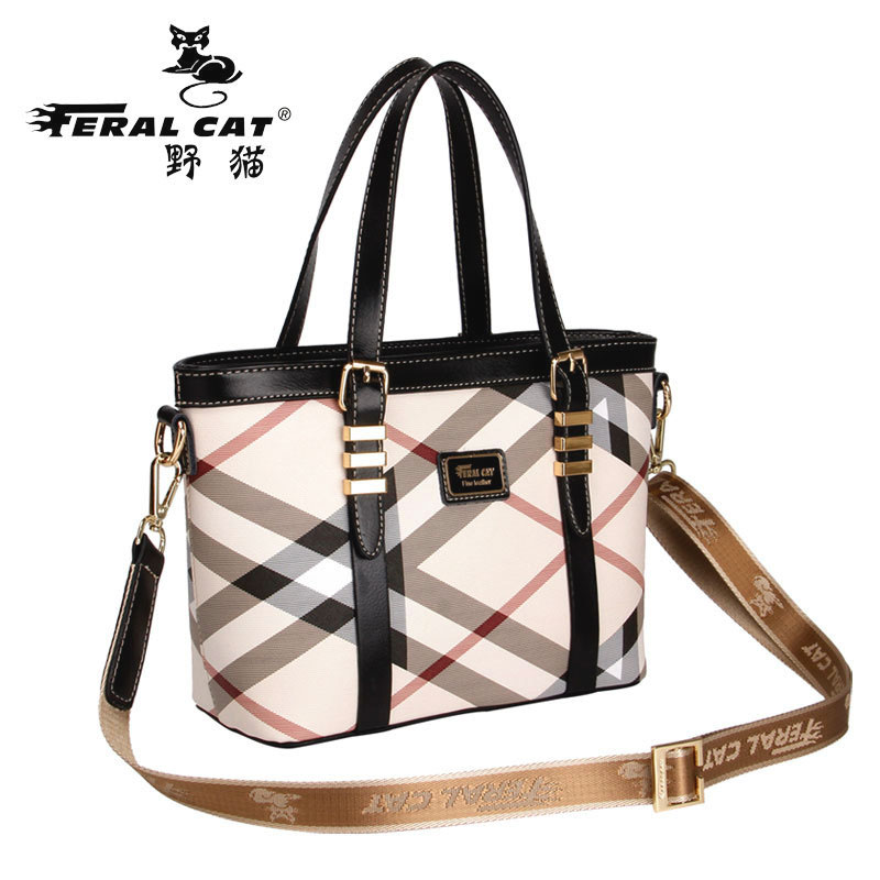 FERAL CAT Fashion designer pvc bags women handbag brand high quality ladies shoulder bags women bag luxury crossbody bag tote