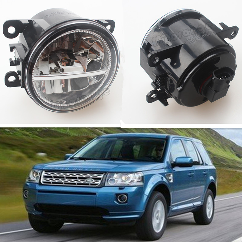 For LANDROVER FREELANDER 2 LR2 2006-2014 Car Styling CCC E2 3000-1WK LED Fog Lamps DRL Lights 1 Set