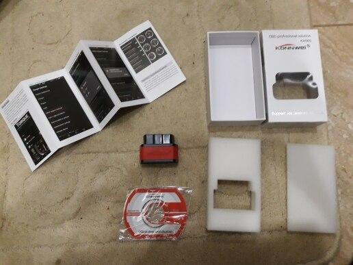 ELM327 OBD2 Scanner Auto scanner ICar2 KW903 Bluetooth ELM 327 V1.5 Car Diagnostic Tool EML327 OBD2 Bluetooth Pic18f25k80 Chip