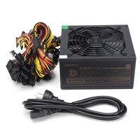Gold 90 Efficiency 1600W Modular BTC Power Supply 6 GPU Eth Rig Ethereum Coin Power Supply