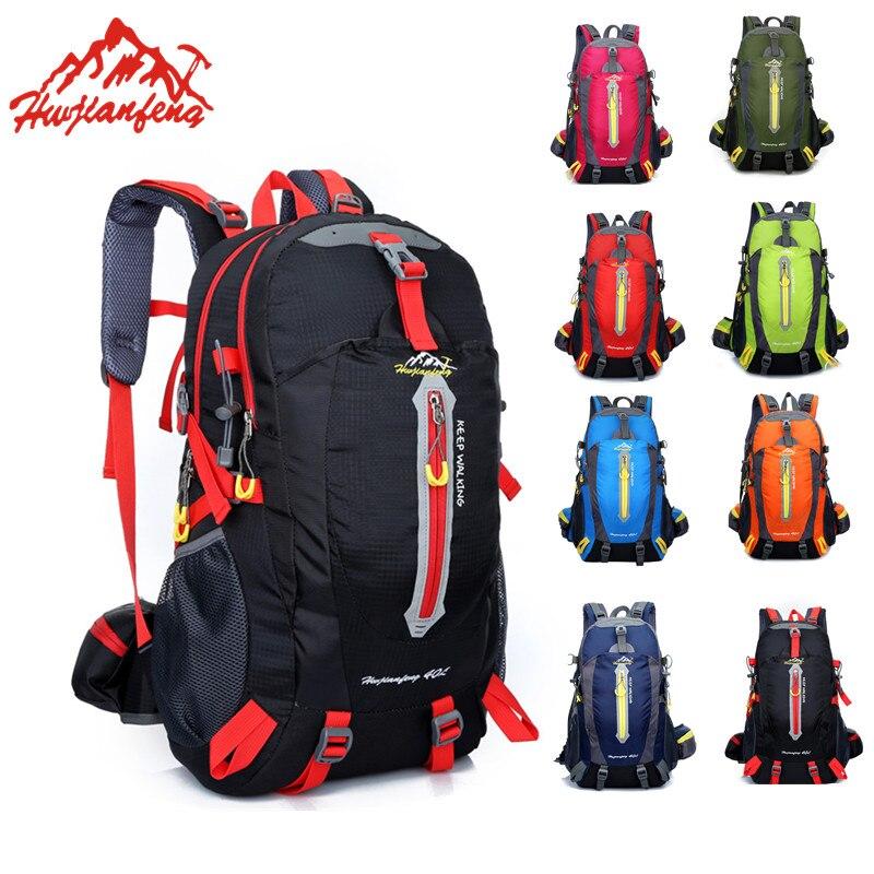 Водонепроницаемый нейлоновый рюкзак для альпинизма, 40л, для активного отдыха, походов и походов|Сумки для альпинизма|   | АлиЭкспресс